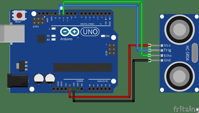 Uduino   Ultrasonic proximity Sensor HC-SR04 in Unity